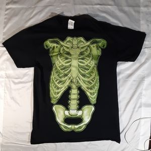 Skeleton Tee men's Medium
